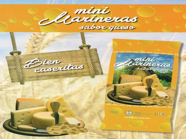 Mini Marineras sabor Queso